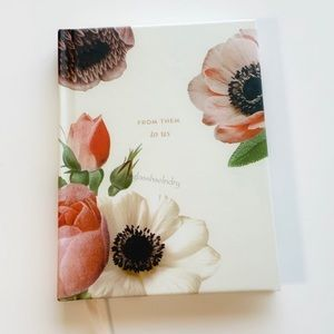 Kate Spade Botanical Gift Logbook
